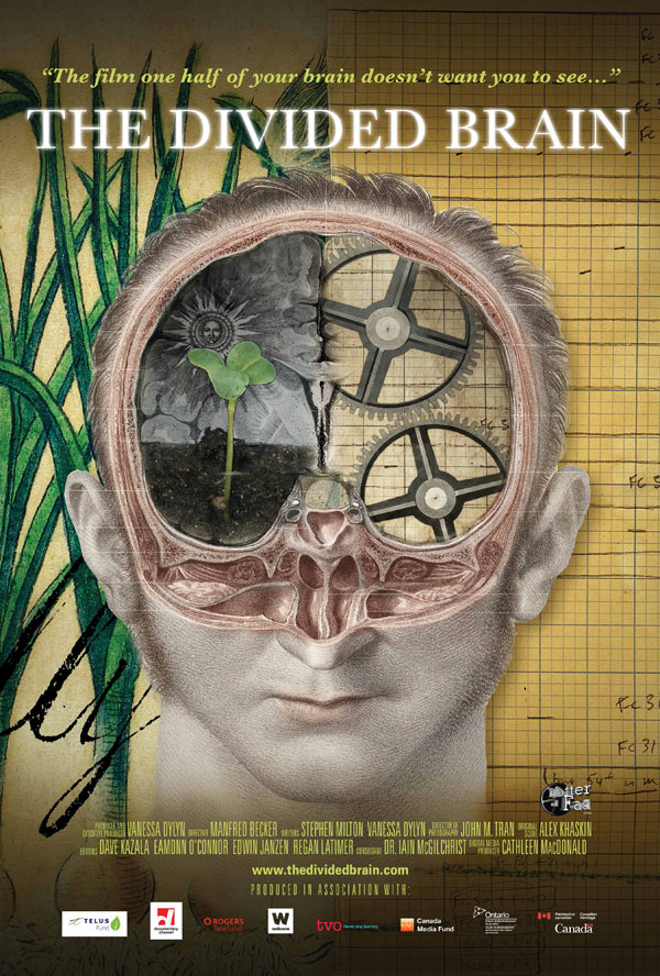 The Divided Brain poster Cathleen MacDonald